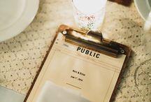 Speisekarten/ Tischnummern