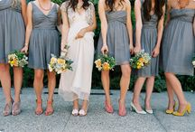 all dressed up / bridesmaids dresses, shoes, THE dress, suits, etc for my big day / by Ashley Browning