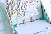 Scrapbook dex prayer memory box
