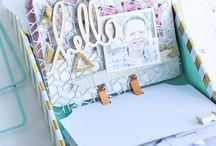 Scrapbook dex prayer memory box