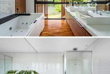 100 Ideas of bathrooms for all tastes - Part II