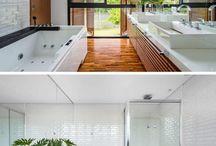 100 Ideas of bathrooms for all tastes - Part II