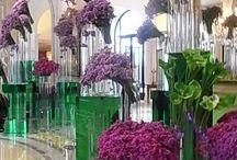 Assinatura em hotel / Arranjos florais