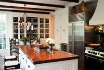 My one day, far away, dream kitchen.  / by Carey C. Bailey