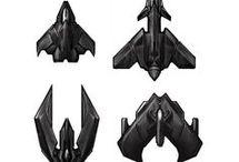 Spaceships 2d sprites