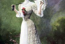 Classic fashion and hair | Victorian era fashion | Femininity and elegance in the past