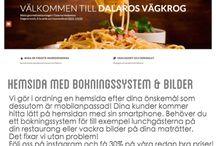 Dalaros.se / Dalaros Vägkrog Responsive & Retina ready hemsida. Med bokningssytem, nyhetsbrev & integrering med sociala medier.