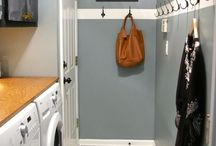 W A S H / Laundry and mudroom