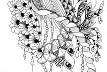 zentangle vzory