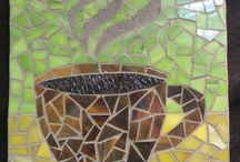 Mosaics / Yes, we offer mosaics at Firefly Pottery also!