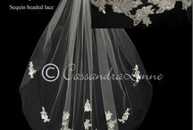 Knee Length Wedding Veils / by Cassandra Lynne