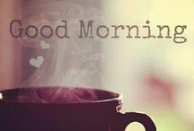 mornings:-) / by Kiara Husted