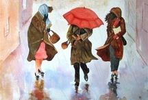 peinture / by Lucie Chalifoux