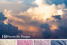 idées palette de couleurs pour tricot ou autre