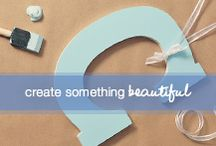 Create Something Beautiful / Crafts, creations, and inspiration. Here are some of our favorite DIY ideas so you can make your world beautifully unique and beautifully yours. / by Dove