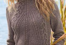 Вязание спицами - водолазки