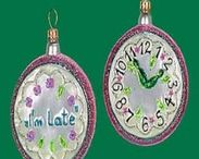 Alice in Wonderland Christmas Ornament Theme / This board displays Alice in Wonderland Christmas glass ornaments. These high end ornaments are idea if you are looking to decorate your Christmas tree with a Disney character theme.