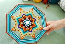 OJO eye of God mandala Yarn craft