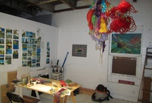 Artist's Spaces / by Cara