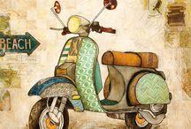 biciclete, motociclete