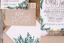 weddings stationary