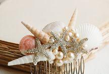 mermaid / seaside / beach wedding ideas