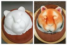 Taart tijger / tiger cake fondant
