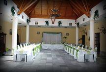 Kastély Hotel Királyrét / Esküvő dekoráció a Kastély Hotel Királyrétben