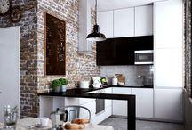 Кухня небольшая