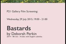 Film screening, 'Bastards' by Deborah Perkin / P21 Gallery invites you to: Film Screening followed by Q&A, Bastards, by Deborah Perkin, 2014 – 80 min – Arabic with English subtitles, Wednesday, 29 July 2015, 19:00 - 21:00