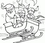 Christmas sled Coloring Pages / This page has a lot of santa,christmas,sled coloring pages for kids,parent and teachers