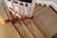Sisal & Wool Sisal Stair Runners / https://carpetworkroom.com Address: 39 Highland Circle, Needham MA 02494 Phone: (781) 844-4912 Email: info@thecarpetworkroom.com / by The Carpet Workroom