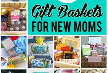 gift baskets for new moms