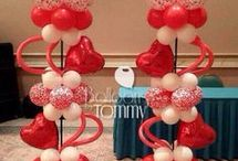 Valentine Balloon Decor Inspiration