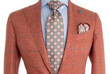 Orange Men Blazer