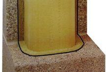 Isolierschornstein IS + GL / Standardschornstein für Regelfeuerstätten  Für Kachel- bzw. Kaminöfen mit hohen Abgastemperaturen