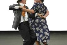 Bailando parejas.