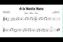 partituur kerstliedjes