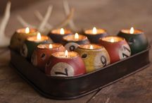 candle light ideas / by Bees Wax Works