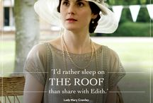 A Downton Abbey Tribute Board / All things Downton