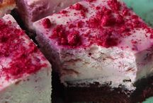 brownie rasberry cheesecake