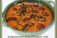 Sweet Potato Koftas/Falafels