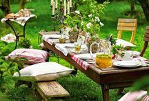 Fiestas en el jardín