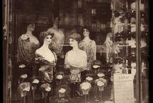 Storefronts -Entrance (Vintage) / Shops windows: Old books, cloths, vintage, Cafe's etc.