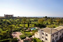 Hotel Villa Athena - Agrigento, Sicily / The only 5-star hotel situated in the Archaeological Park of the Valley of the Temples, which UNESCO has declared a world heritage site, Villa Athena stands only two hundred metres from the Temple of Concordia, a true masterpiece of Doric art dating back to the 5th century B.C. Here can be found a Sicily which goes back millennia.