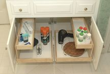 Bathroom Cabinets / by ShelfGenie