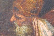 """PAOLO VERONES  """" Presentación en el Templo"""" / Oleo de la mano del Artista"""