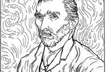 Antistress Coloring - Van Gogh