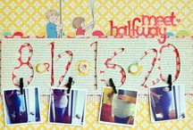 layouts scrapbooking