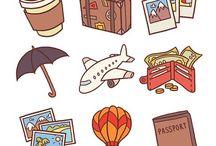 Traveller's stuff